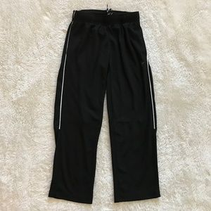 Old Navy Boy's Active Jogger Pants Black White M 8